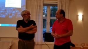 Kurt Persson hälsade välkommen och överlämnade ord och bild till Bengt Nordqvist.