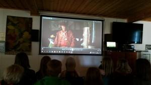 En spännande film om pirater fick avsluta denna filmeftermiddag.